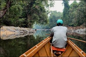 Borneo canoe