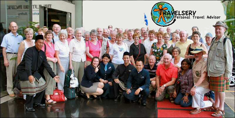 The King's Own Scottish Borderers' trip to Malaysia and Singapore, March 2010