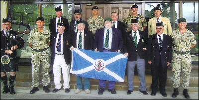 Queens Own Highlanders. March 2013