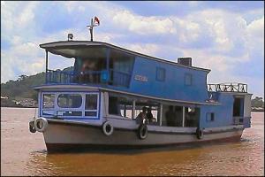 Borneo houseboat